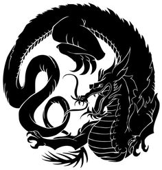 Kung Fu, Japanese Family Crest, Crest Tattoo, Small Dragon Tattoos, Asian Artwork, Japanese Drawings, Japanese Dragon, Chinese Dragon, Chinese Patterns