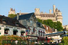 La folie romantique du château de #Pierrefonds dans l'#Oise. #Picardie #France