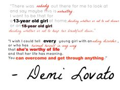 Quote by Demi Lovato. Omg I'm crying. Someone hold me.