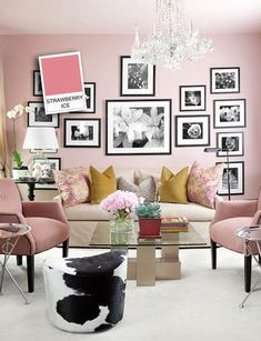 Esta primavera decorar con strawberry ice es tendencia en decoración #strawberryice #pantone #primavera15 #spring15