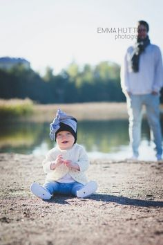 Isä ja tytär: isänpäivälahjaa tekemässä ♡