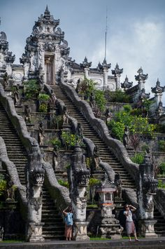 The Big White Temple... Pura Lempuyang, Bali, Indonesia