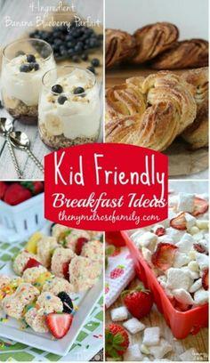 Breakfast for the kids.