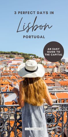 3 Days In Lisbon Portugal. Plan your trip to the Portuguese capital with this easy-to-follow travel itinerary. Including the must-see sights, as well as where to eat, and where to sleep, it's a useful guide for first-time travelers. | Lisbon | Lisboa | Portugal | Portogallo | Lisbon Travel | Portugal Travel | Weekend In Lisbon | Weekend Getaway | European Destinations Places In Portugal, Visit Portugal, Places In Europe, Spain And Portugal, Portugal Travel Guide, Europe Travel Guide, Spain Travel, Travel Tips, Hiking Europe