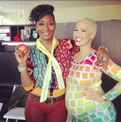 #Toccara Americas Top Model #AmberRose baby shower