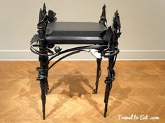 Presentation Table 1993, Albert Paley. Corcoran Gallery, Washington DC