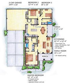this is a nicely laid out small house