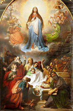 A Assunção de Nossa Senhora  Our Lady's Assumption Into Heaven/ François-Joseph Navez