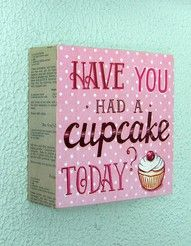 Have you had a cupcake today?