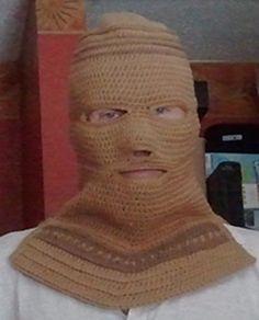 Crocheted Balaclava