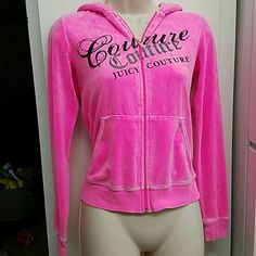 Juicy Couture pink hoodie sweater In good condition Sweaters