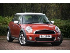 Orange Spice MINI Cooper - This looks like my Pumpkin just missing the white stripes down the front !
