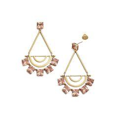 20/22 Tory Burch jeweled earrings, $195. toryburch.com