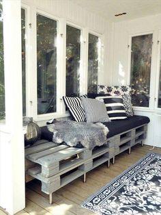Top 104 Unique DIY Pallet Sofa Ideas | 101 Pallet Ideas - Part 13: