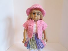 American Girl Doll Clothes-18 Inch Doll by HookedOn18InchesbyBC