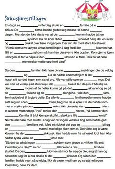 I am in the process of trying to collect some fun mad libs to use in Norwegian class. Here are a few from Sjømannskirken that are great! Activities For Kindergarten Children, Preschool Letters, Puzzles For Kids, Norway Language, Mad Libs, School Subjects, Never Stop Learning, Language Activities, Too Cool For School