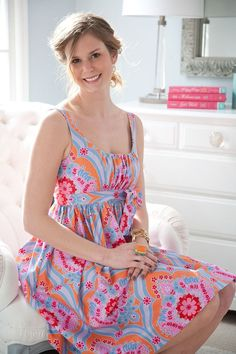 Sis Boom Carolina Mae Sewing Pattern PDF by scientificseamstress