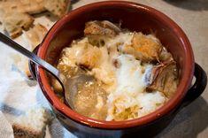 Zuppa di cipolle e pecorino