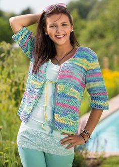 Strik nemt den fine trøje med farver