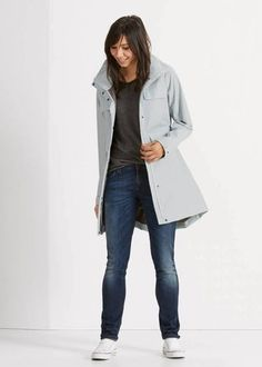 fe852fdf 10 Stylish Raincoats That Will Have You Excited for Gloomy Weather | Brit +  Co Stylish