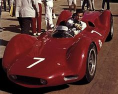 Zerex Climax. Penske on the grid of the Puerto Rico GP 1962, a win. Car looks simply fantastic. Workmanship a treat.