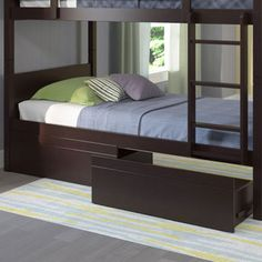 Monroe Bed Storage Drawers – Dark Cappuccino