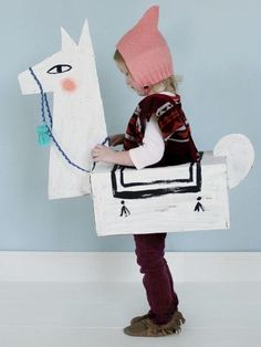 Llama DIY Costume Idea | Make this adorable animal costume for your little one this year!