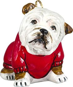 12 best English Bulldog Christmas Ornaments images on Pinterest ...