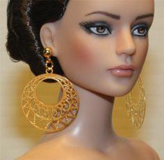 """""""Senorita"""" GP Earrings for Tonner Tyler Antoinette Dee Anna AM Gene Sybarite"""