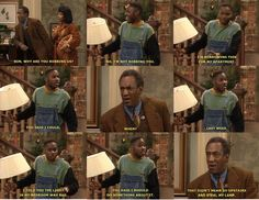 Love this Cosby show logic... Gotta remember when I move out :)