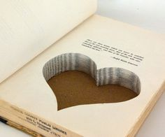 """""""Jewelry stash book - or creative gift wrap!"""" Am I the only one who wants to cry a little bit when people cut holes in books? @Victoria Brown Fishel @Emily Schoenfeld Hinson"""
