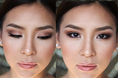 Makeup For Small Asian Eyes Best Ideas For Makeup Tutorials Makeup Tutorial Enhancing Small Makeup For Small Asian Eyes 11 Amazing Asian Eye Makeup Tutorials Viva La Vibes. Makeup For Small Asian Eyes Smokey Make Up For Asian Or Hooded Eyes Y. Soft Bridal Makeup, Asian Wedding Makeup, Wedding Makeup For Brown Eyes, Asian Eye Makeup, Wedding Makeup Tips, Formal Makeup, Wedding Makeup Looks, Hair Wedding, Bride Makeup Asian