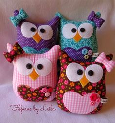 Bildergebnis für gallina porta bolsa paso a paso Owl Crafts, Diy And Crafts, Arts And Crafts, Fabric Toys, Fabric Crafts, Sewing Toys, Sewing Crafts, Craft Projects, Sewing Projects