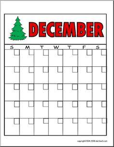 Blank Preschool Calendar Template  Online Blank Calendar  School