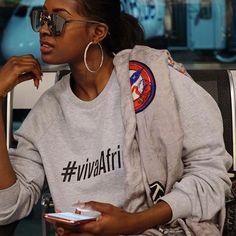 Sira Kante, Character Bank, Black Queen, African Beauty, Dark Beauty, Black Is Beautiful, Rihanna, Afro, Graphic Sweatshirt