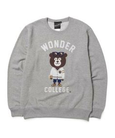 BEAMS T(ビームスT) - 【SPECIAL PRICE】The Wonderful! design works. / IVY BEAR クルーネック スウェット(スウェット)|ビームス公式通販[BEAMS Online Shop]