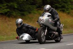 Lückendorfer Bergrennen BMW R50 Sidecar by joero, via Flickr