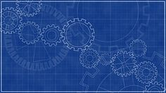 Blueprint with spinning gears technical background automatedbackgroundsblueblueprintcircleconceptsconcepts malvernweather Gallery