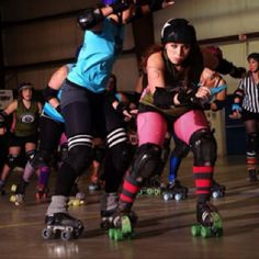 Fastest growing womens sport in the world!! Womens flat track roller derby!!! This is DeathRaceDarby from the Reign Valley Vixens Roller Derby League in Abbotsford BC!! Whats the closest team to your city!?!