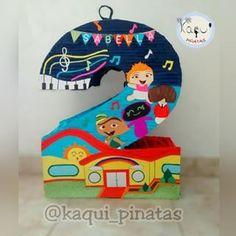 Baby Rocker, Ideas Para Fiestas, Rockers, Event Planning, Toy Chest, Daisy, Invitation Ideas, Kids Part, Rainbow Birthday Decorations