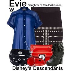 My fav movie I'm dressing up as mal I think  ma BFFS should dress as evie