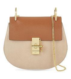 5f28db21844 CHLOE Drew small leather cross-body bag