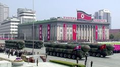 Online Business Operator: North Korea flaunts intercontinental missiles in b...