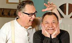 Vic Reeves and Bob Mortimer. They make me laugh.