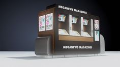 Is This Automatic Magazine Kiosk The Newspaper Stand Of The Future? — Pop-Up City