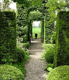 Did You Say Enfilade? On Fill What? #Hedgesgardendesign