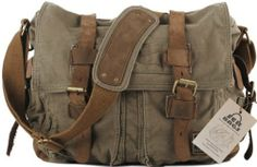 SERBAGS Military Style Messenger Bag - P...
