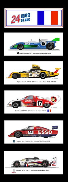 French Le Mans Racers