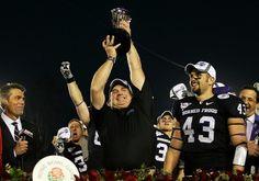TCU Rose Bowl celebration