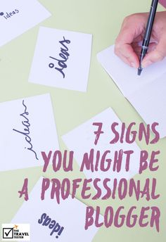 7 Signs you might be a Professional Blogger - Lessons Learned from Nordic Bloggers Experience in Finland   The Travel Tester